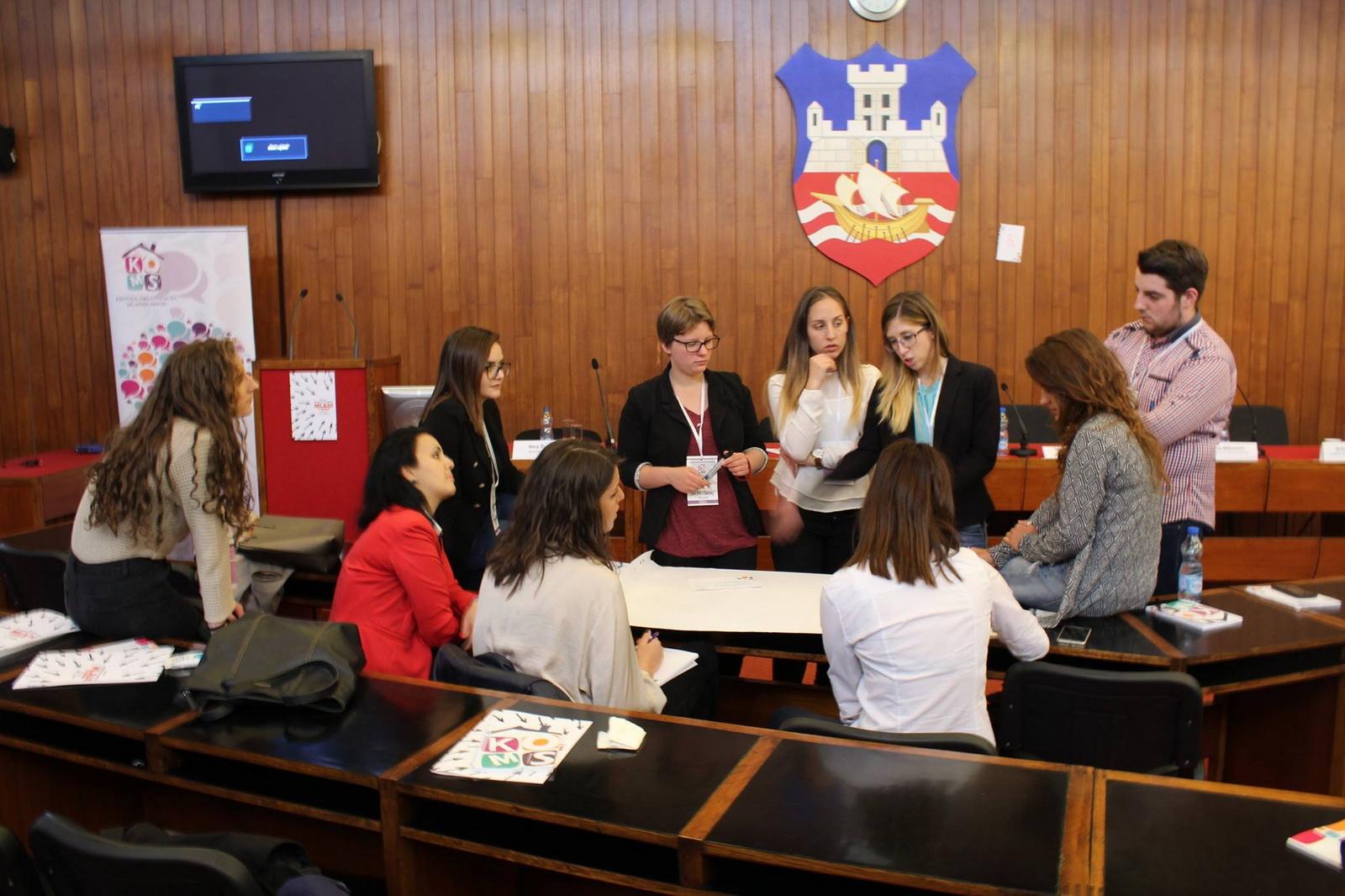 Jelena, aktivna članica BUM-a na Forumu omladinske politike