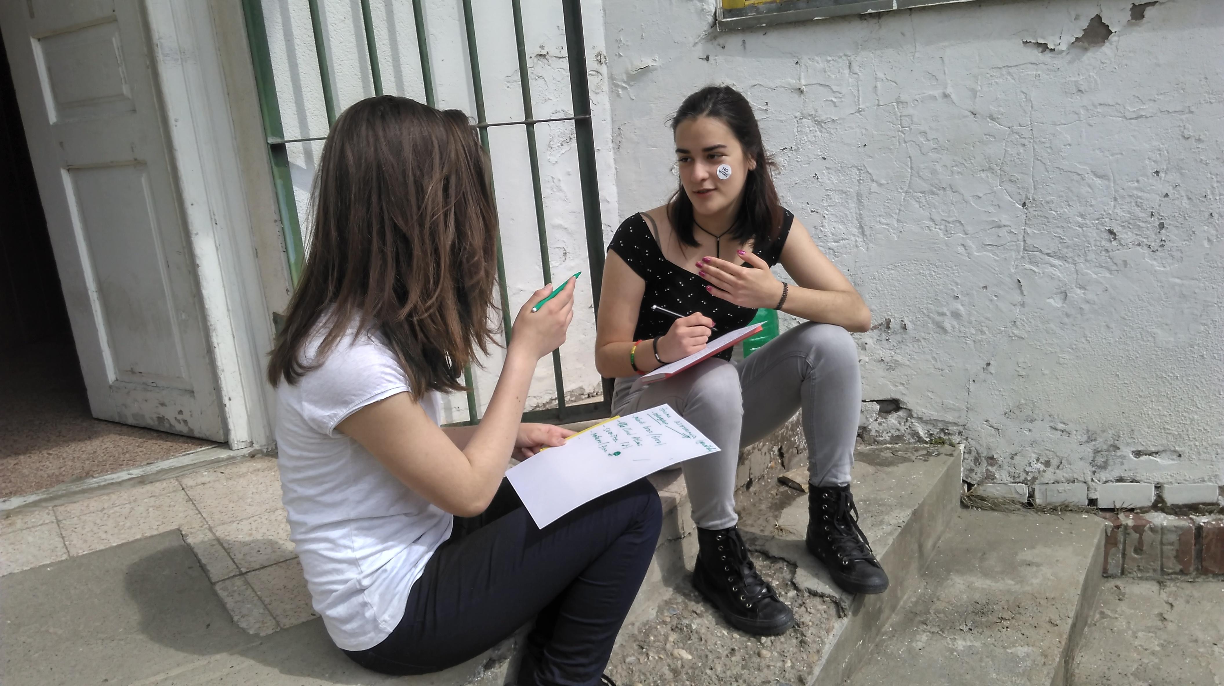 Tokom realizacijre radionica o rodno zasnovanom nasilju