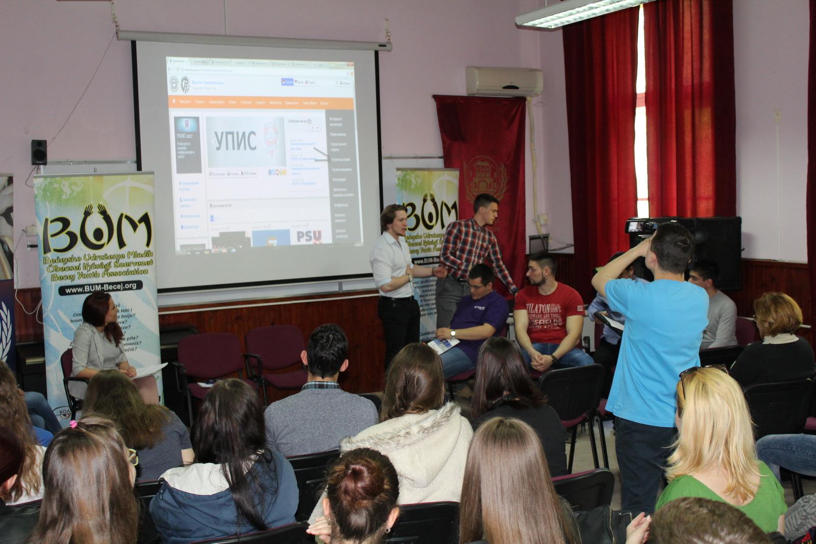 Studenti FTN-a objašnjavaju kako izgledaju početne pripreme