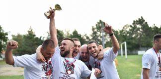 Pobednička ekipa Sedme vojvođanske olimpijade starih sportova